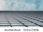 skyscraper buildings and sky... | Shutterstock . vector #523117606