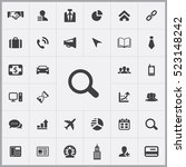 search icon. corporate icons... | Shutterstock .eps vector #523148242