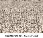alien nation | Shutterstock .eps vector #52319083