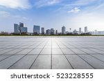 panoramic skyline and buildings ... | Shutterstock . vector #523228555