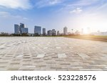 panoramic skyline and buildings ... | Shutterstock . vector #523228576