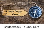 new year goals   motivation... | Shutterstock . vector #523231375
