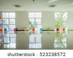 light white room with big window | Shutterstock . vector #523238572