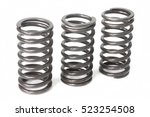 metal steel spring spare parts... | Shutterstock . vector #523254508