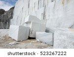 marble quarry | Shutterstock . vector #523267222