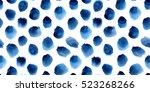 seamless pattern of hand... | Shutterstock . vector #523268266