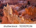 bryce canyon national park | Shutterstock . vector #523329136