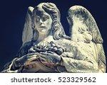 Beautiful Angel Statue Holding...