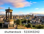 Edinburgh Skyline As Seen From...
