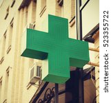 Green Cross. Pharmacy. Green...