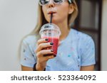 outdoor fashion hipster style... | Shutterstock . vector #523364092