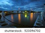 estuary bang tabun bride | Shutterstock . vector #523396702
