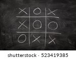 Abstract Tic Tac Toe Game...