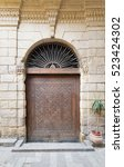 Small photo of Door leading to Bayt Al-Suhaymi, an old Ottoman era house in Cairo, Egypt, built in 1648 along the Darb al-Asfar, a very prestigious and expensive part of Medieval Cairo