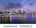 Dubai Water Canal In Morning...