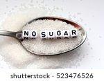 diabetes concept suggesting no... | Shutterstock . vector #523476526
