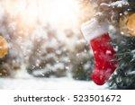 Closeup On Christmas Tree...