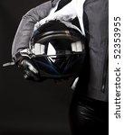 picture of racing helmet in... | Shutterstock . vector #52353955