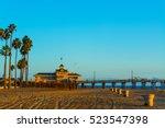 Newport Beach Pier At Sunset ...