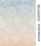 background with snowflakes   Shutterstock .eps vector #523555798