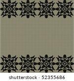 seamless ornate pattern   Shutterstock .eps vector #52355686