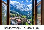 Jungfrau Through The Window  ...