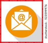 email icon vector illustration... | Shutterstock .eps vector #523599976
