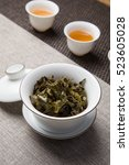 dry leaf tea | Shutterstock . vector #523605028