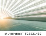 blur abstract city background... | Shutterstock . vector #523621492