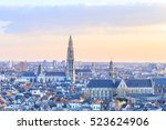 View Over Antwerp With...