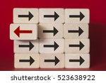 uniqueness  difference ...   Shutterstock . vector #523638922