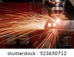 Cnc Laser Cutting Metal Sheet - Fine Art prints