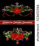 christmas elements for your... | Shutterstock .eps vector #523652566