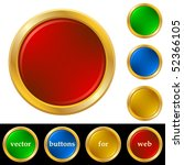 ring buttons for web | Shutterstock .eps vector #52366105