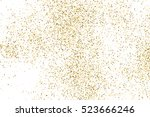 gold glitter texture isolated... | Shutterstock .eps vector #523666246
