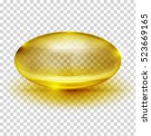 transparent capsule image   Shutterstock .eps vector #523669165