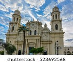 assumption cathedral  ... | Shutterstock . vector #523692568