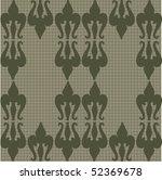 seamless ornate pattern | Shutterstock .eps vector #52369678