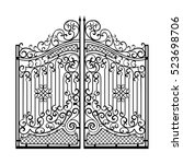 Beautiful Iron Ornament Gates....