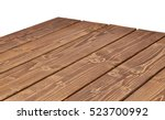 perspective view of log table... | Shutterstock . vector #523700992
