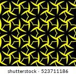 abstract seamless geometries... | Shutterstock .eps vector #523711186