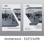 cover design brochures  vector... | Shutterstock .eps vector #523721698