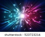 abstract future technology... | Shutterstock .eps vector #523723216