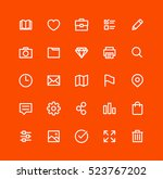 user interface icons | Shutterstock .eps vector #523767202