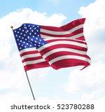 Flag United States America Usa - Fine Art prints