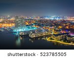 aerial view of federal hill and ... | Shutterstock . vector #523785505
