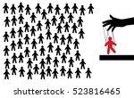 hidden people management....   Shutterstock .eps vector #523816465