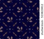 diamond pattern  diagonal... | Shutterstock .eps vector #523823812