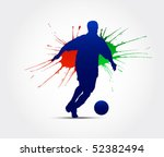 football poster | Shutterstock .eps vector #52382494