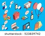 illustration of info graphic... | Shutterstock .eps vector #523839742